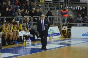 givova scafati basket vs rieti coach perdichizzi
