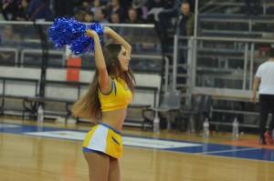 givova scafati basket vs tortona cheerleader lucy