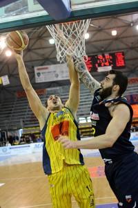 Givova Scafati Basket Vs La Briosa Barcellona SERIE A2 GIRONE OVEST 28° Giornata 2016 LNP Baldassarre vs Pellegrino
