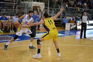 Givova Scafati Basket Vs Tezenis Verona SERIE A2 PLAYOFF 2016 LNP Da Ros vs Miller