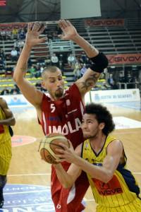 Givova Scafati Basket Vs Andrea Costa Imola  SERIE A2 PLAYOFF Gara 1 LNP Portannese vs Maggioli