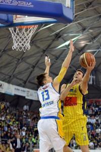 Givova Scafati Basket Vs Tezenis Verona SERIE A2 PLAYOFF 2016 LNP Spizzichini vs Cortese