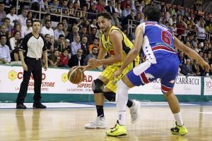 Givova Scafati Basket Vs Centrale del Latte Brescia SERIE A2 Playoff  2016 GARA 2 LNP Baldassarre vs Bruttini