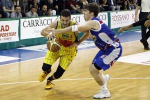 SERIE A2 Playoff  2016 GARA 2  - Givova Scafati Basket Vs Centrale del Latte Brescia Spizzichini vs Fernandez