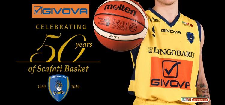 Givova celebrating #50YearsOfScafatiBasket