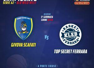 Givova Scafati vs Top Secret Ferrara -grafica