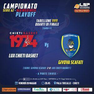 Locandina Chieti - Scafati (gara 3)